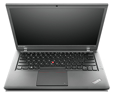 Lenovo Thinkpad T440s Laptop (open front view)